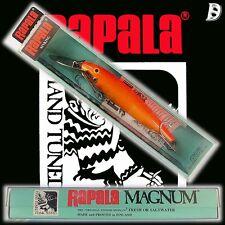 VINTAGE Rapala Magnum conto alla rovescia 11cm GFR Finland, NUOVO IN BOX RARO