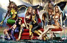 Sexy X-Men Girls Magnet