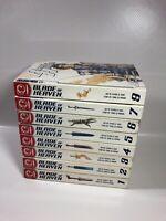 Blade of Heaven Vol.1-7, 9 Graphic Novel  English (lot Of 8 Books) Yong-Su Hwang