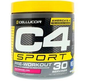 Cellucor C4 Sport Pre-Workout 270 g 30 Serves Watermelon Flavour Preworkout