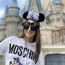 NEW Mickey Mouse Ears Black Sunglasses Shutter Walt Disney World Disneyland
