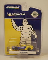"Greenlight 1:64 2017 Ford GT ""MICHELIN"" Diecast model car"