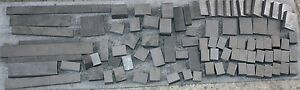 Lot of ~2896gr Graphite Electrode Carbon Mold Pattern Glass Blow