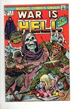 War is Hell #9 FIRST APP DEATH! Very LOW PRINT RUN! VF 8.0 KEY THANOS BOOK!