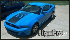 New Mustang Faded Strobe Center Hood Stripe Decal Stripes Fits all mustangs
