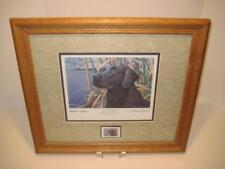"""SKY WATCHER"" COLLECTOR'S EDITION BY SHARON ANDERSON ~ HAND SIGNED FRAMED MATTED"