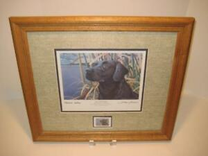 """""""SKY WATCHER"""" COLLECTOR'S EDITION BY SHARON ANDERSON ~ HAND SIGNED FRAMED MATTED"""