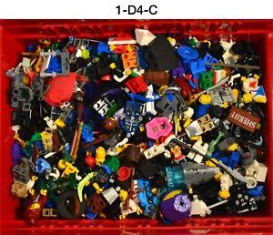 Lego Minifigure Bulk Lot 2 Pounds Space Vintage Castle Star Wars Town Police
