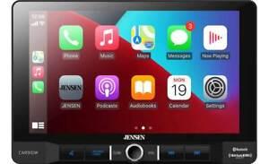 "NEW Jensen CAR910W 1-DIN Digital Media Car Stereo w/ 9"" Touchscreen, CarPlay"