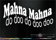 Funny Muppets Decal MAHNA-MAHNA movie SONG Show Vinyl Car STICKER~ANY SIZE/COLOR