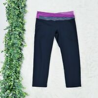 Lululemon Women's Astro Wunder Under Criss Cross Crop Capri Leggings - Size 8