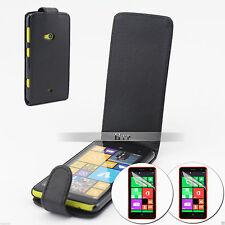 Slim Flip Leather Case Cover For Nokia Lumia 625+2Film AU