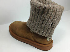 UGG AUSTRALIA Cambridge Women's Chestnut Sweater Boots S/N 1003175 Size 8 US.