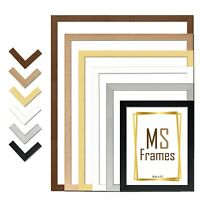 A1 A2 A3 A4 A5 Photo Frame Picture Poster Black White Beech Silver Gold Walnut