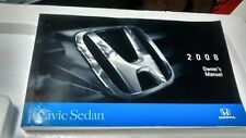 2008 Honda Civic Sedan owners manual.