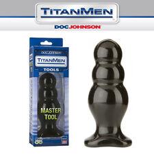 Plug anale corpo graduato a tre bolle Doc Johnson TitanMen Master No.4 anal plug