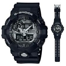 Casio G-Shock Mens Wrist Watch GA710-1A  GA-710-1A  Black/Silver 3D Face