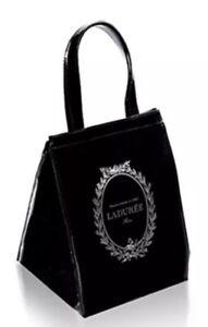 LADUREE SAC ISOTHERME Hot Cold LUNCH BAG S size Black