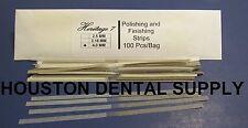 Disposable Dental Composite Polishing and Finishing Strips 100 Pcs/Bag 4 MM
