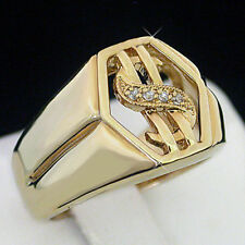 Solitaire with Accents 14k Rings for Men