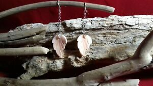 Sea Shell and .925 sterling Silver Earrings