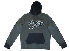 Polo Ralph Lauren Blue Red Beacon XXL Southwest Serape Hoodie Jacket Sweater 2XL