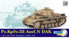 Dragon Armour 1/72 Panzer III Ausf.N DAK s.Pz.Abt.501 Tunisia 1942/43 60601