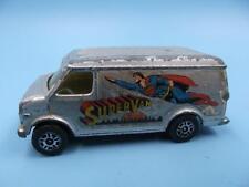 ORIGINAL Vintage CORGI JUNIORS US Van SUPERVAN Superman Van 1:64