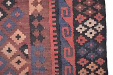 maimana Orient Kelim Tapis laine tissé 267x157cm kélim Tapis Tappeto Tapis