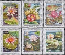 Laos 535-540 (complète edition) neuf avec gomme originale 1982 nénuphars