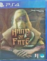 Hand of Fate 2 PS4 ASIA ENGLISH NEW SEALED REGION FREE PLAYSTATION 4