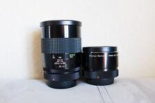 Vivitar Series 1 90mm f/2.5 Macro Objektiv mit Adapter (Canon FD) - ausgezeichneter bokina