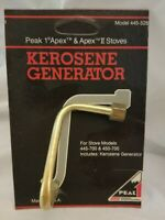 Coleman Peak 1 Kerosene Generator for Apex 1 & II Stoves 445-5261