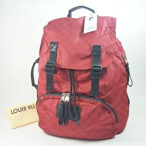 Authentic Louis Vuitton Damier Aventure Lightpack Mercury N41189 Backpack LA951