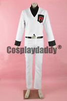 Pokemon Gold and Silver Archer Head of Team Rocket Uniform Cosplay Costume F006