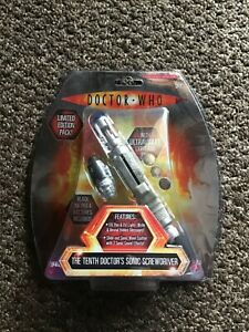 Doctor Who Tenth Doctor's Sonic Screwdriver