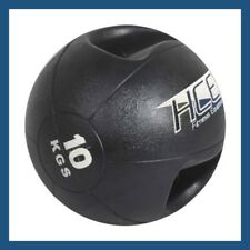 10Kg DOUBLE-GRIP MEDICINE BALL for Gym Fitness and Cross Fit Training 3KG - 10KG
