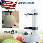 White Automatic Kitchen Machine Fruit Apple Potato Peeler Corer Cutter Slicer US
