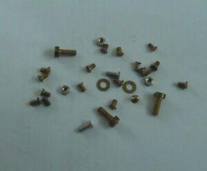 Vintage Avometer spares - small selection of tiny screws etc (no 9)