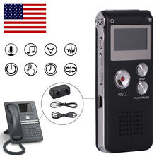 16GB Portable Digital USB Voice Recorder Dictaphone Sound Activated MP3 Player