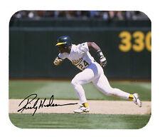 Item#2288 Rickey Henderson Oakland Athletics Facsimile Autographed Mouse Pad