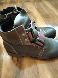 Fly  London Brown Ankle Boots Size UK 8 EU 41
