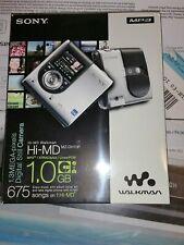 Rare Sony Hi-Md Walkman Player Mz-Dh10P Portable MiniDisc Camera Md Mp3 HiMd