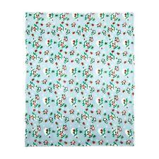 """Christmas Holiday Polar Bear & Penguin Throw Blanket 50"""" x 60"""""""