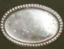 Vintage metal decorative serving tray