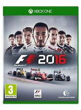 F1 2016 FORMULA 1 ONE XBOX ONE BRAND NEW AND SEALED