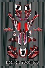 TRX 450R graphics Honda 450 ATV sticker kit FREE Semi Custom Service SE1