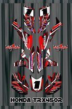 TRX 450R graphics Honda 450 ATV sticker kit FREE Semi Custom Service SE1