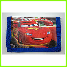 NEW Pixar Cars McQueen Children's Kids Boys Coins Purse Wallet Bag Birthday Gift