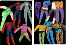 """1974 WGSH Aquaman Captain America Superman 8"""" mego figure BOOTS SUIT SHOES BANDS"""